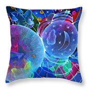 Universal Transect Throw Pillow