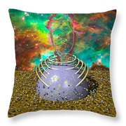 Universe Power Supply Throw Pillow
