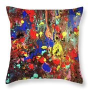Universe Spaces Splash Throw Pillow