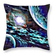 Universe #0071 Throw Pillow
