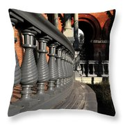 University Balustrades Throw Pillow