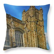 University Of Michigan Ann Arbor Throw Pillow