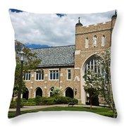 University Of Notre Dame Law School Throw Pillow