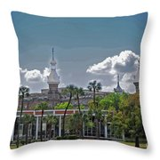 University Of Tampa Throw Pillow