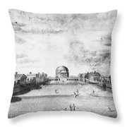 University Of Virginia Throw Pillow