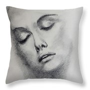 Unknown Model - 3 Throw Pillow