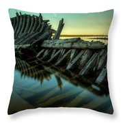 Unknown Shipwreck Throw Pillow