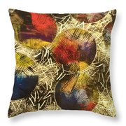 Unknown Space Throw Pillow by Sonya Wilson