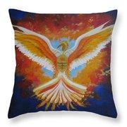 Unleashing The Holy Spirit Throw Pillow