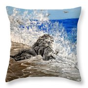 Unlimited Energy Throw Pillow
