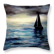 Unlimited Horizons Throw Pillow