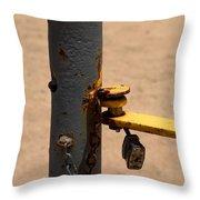 Unlock  Throw Pillow