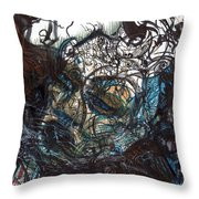 Unmasqued Throw Pillow