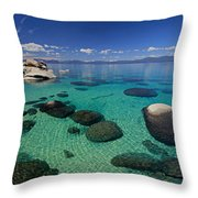 Unmatched Clarity Throw Pillow