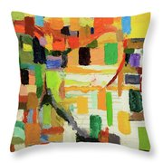 Unnecessary Roughness Throw Pillow