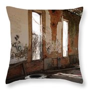 Unoccupied Throw Pillow