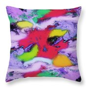 Unpredictable Wave Throw Pillow