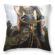 Unstuck In Time Throw Pillow
