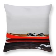 Until The Fog Lifts Throw Pillow