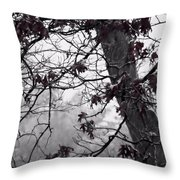 Until The Last Leaf Falls Throw Pillow