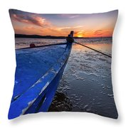 Until To The End Throw Pillow