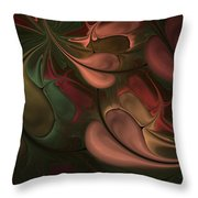 Untitled 01-26-10 Earth Tones Throw Pillow