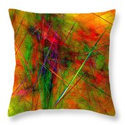 Untitled 0123-10 Throw Pillow