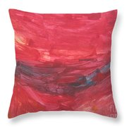 Untitled 106 Original Painting Throw Pillow