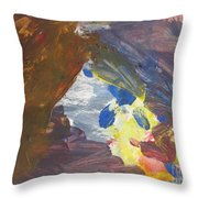 Untitled 139 Original Painting Throw Pillow