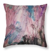 Untitled 140 Original Painting Throw Pillow