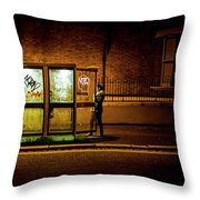 Untitled 2, Darkness Throw Pillow