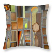 Untitled 42 Throw Pillow