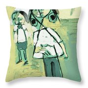 Untitled 645 Throw Pillow
