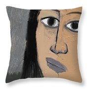 Untitled 648 Throw Pillow