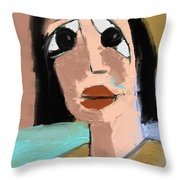 Untitled 649 Throw Pillow