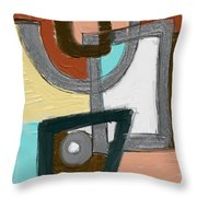 Untitled 652 Throw Pillow
