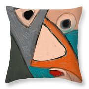 Untitled 655 Throw Pillow