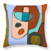 Untitled 660 Throw Pillow
