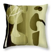 Untitled 670 Throw Pillow