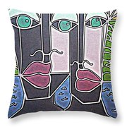 Untitled 77 Throw Pillow
