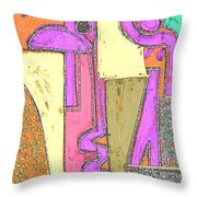 Untitled 781 Throw Pillow