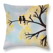 Untitled 8 Throw Pillow