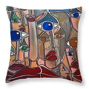 Untitled 83 Throw Pillow
