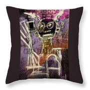 Untitled Abstract 31march2016 Throw Pillow