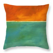 Untitled, Abstract Throw Pillow