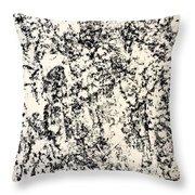 Untitled Black Throw Pillow