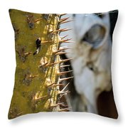 Death And Taxes Throw Pillow