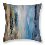 Blue Breeze Throw Pillow