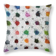 Untitled No 4 Throw Pillow