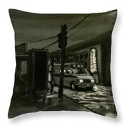 Untitled Number One Throw Pillow